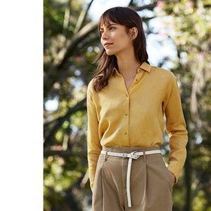NWT UNIQLO Women's Premium Linen Shirts